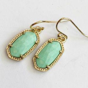Kendra Scott Lee Dangle earrings Mint Green